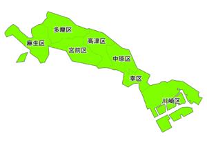 神奈川県川崎市ポスティング